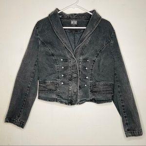 CONVERSE • One Star • Military Style Denim Jacket